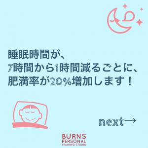 睡眠時間と肥満の関係